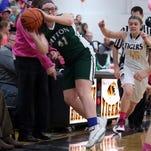 Dayton at Bellevue girls' basketball
