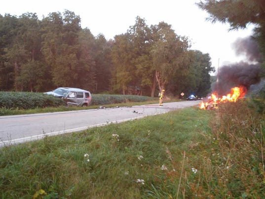Car-fire-pleasant-valley-road