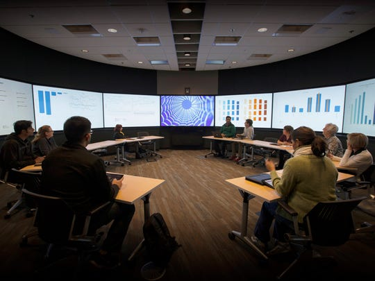 ASU's Decision Theater actively engages researchers and leaders to visualize solutions to complex problems.
