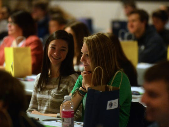 The Great Falls Ad Club hosted 146 students at their