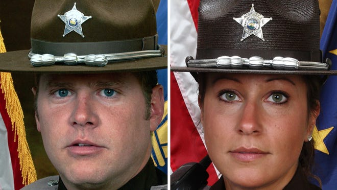 Jason Woods, 41, and Teresa Woods, 34, had been suspended without pay since March 12 because of the allegations. Jason Woods was a merit deputy for 15 years and Teresa Woods was a deputy for three years.