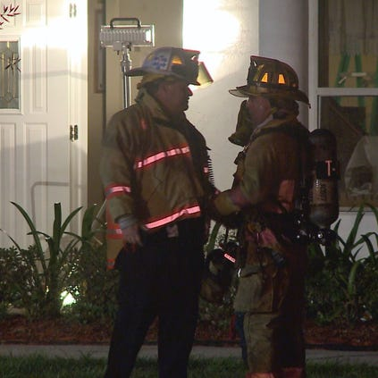 A fire broke out at a Palm Harbor Church early Tuesday morning.