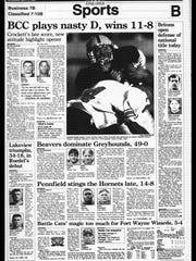 BC Sports History - Week of Sept. 5, 1995