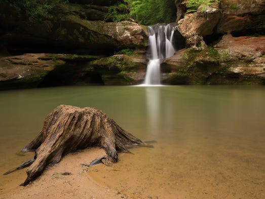 Beat the heat swimming holes waterfalls and lakes around - Campgrounds in ohio with swimming pools ...