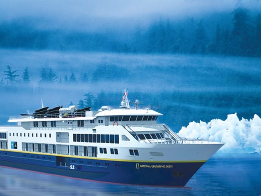 Lindblad Expeditions' 100-passenger National Geographic