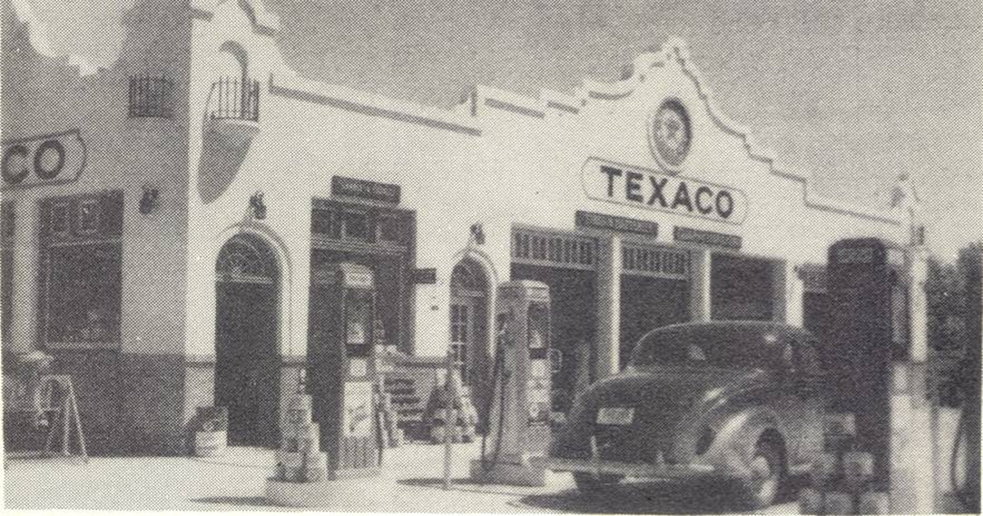 Griff Anderson: Good to see 'ol girl' Texaco station shine again as