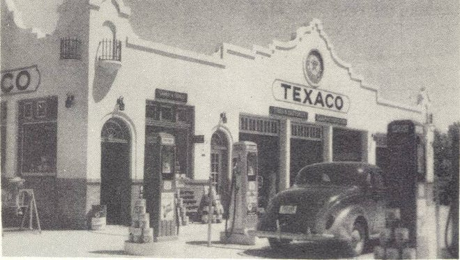 The Texaco Super Service Station at South First Avenue and East 12th Street was built in 1929 for Adams Oil Company and was bought by Texaco in 1932.