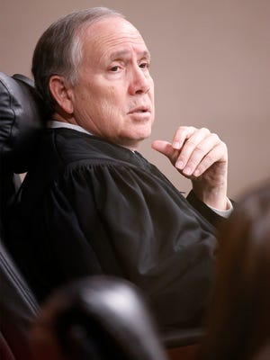 Judge Luis Aguilar of the 243rd District Court