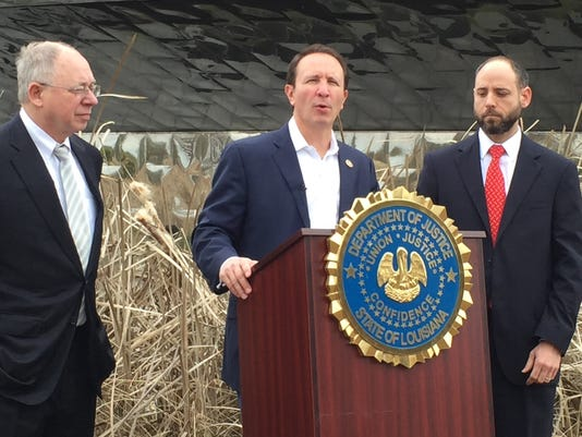 Jeff Landry files federal lawsuit