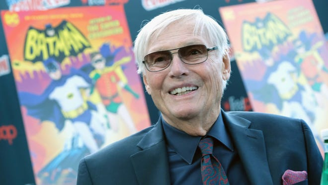 """June 9, 2017: Adam West, the actor who played Caped Crusader on  the classic '60s TV show """"Batman,"""" has died. The program only ran for two years but made West a star. It also typecast the actor, who found it difficult to break away from the """"Batman"""" mold. He later found voice work on """"Family Guy"""" and sent up his image on such TV programs as """"The Big Bang Theory,"""" """"Murphy Brown"""" and """"NewsRadio."""" West died from leukemia, according to the Hollywood Reporter. He was 88."""