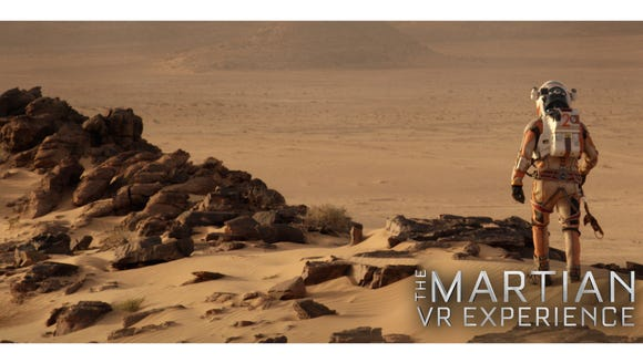 'The Martian VR Experience' condenses the movie 'The