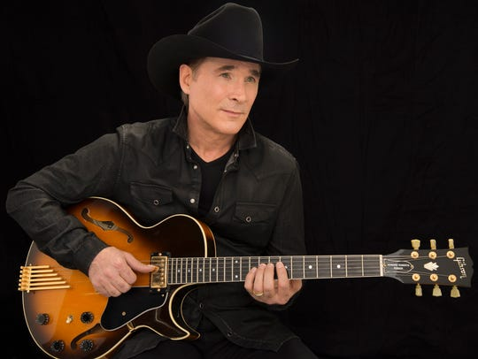 Clint Black with play at The Victory on Friday.