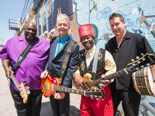 Lil' Ed & the Blues Imperials play a free show at Miami Valley Gaming on Saturday as part of the Rhythm & Brews Festival.