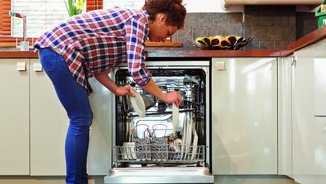 Consumer Reports advises dishwasher owners to stop pre-rinsing dishes before loading them in the dishwasher.
