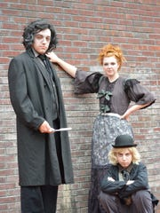 Collin Picket (Sweeney Todd),  Emma Hubeny (Mrs. Lovett)