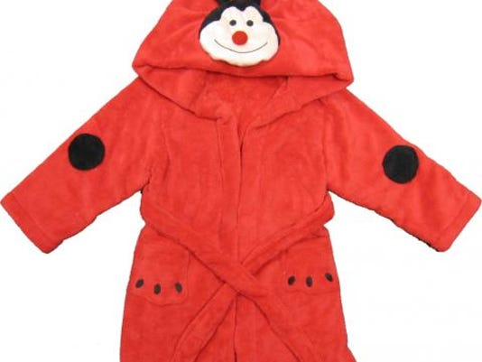 Ladybug robe from Kreative Kids