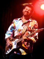 Tab Benoit plays with Voice of the Wetlands Allstars