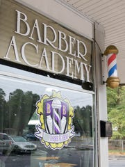 Barber Academy in Pensacola on Thursday, December 28, 2017.