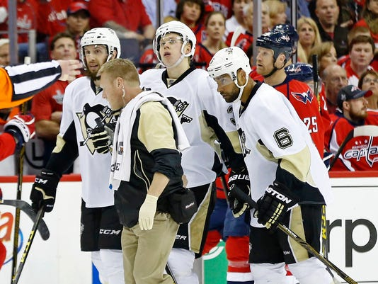 USP NHL: STANLEY CUP PLAYOFFS-PITTSBURGH PENGUINS S HKN USA DC