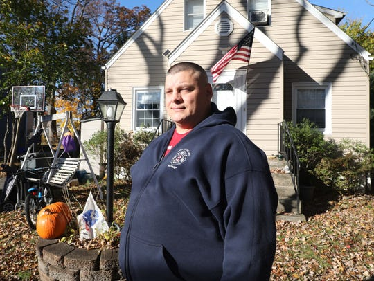 Bill Harris from Pearl River is pictured at his  home,