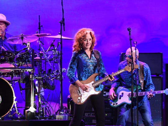 Raitt performed several of her signature songs, including