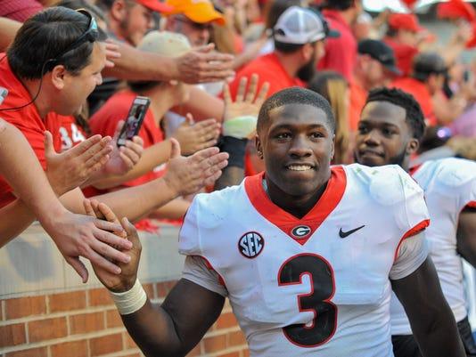 NCAA Football: Georgia at Tennessee