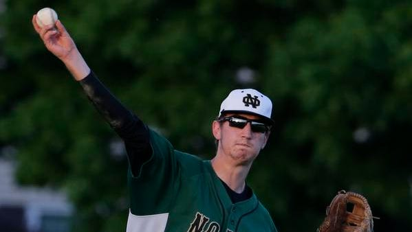 Oshkosh North's Dylan Krumrei has been playing varsity baseball since his freshman year. This year, he says his arm feels much stronger after two years of recovery.
