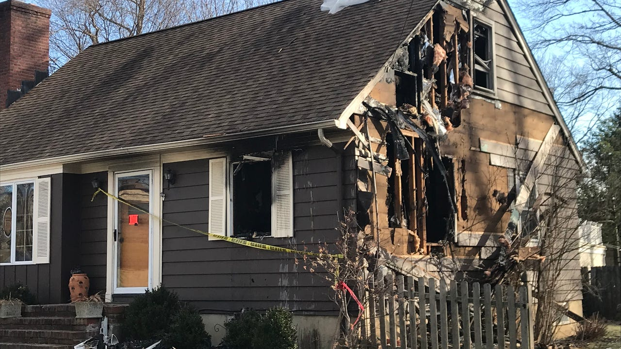 Watch: Fire guts Chatham Township home