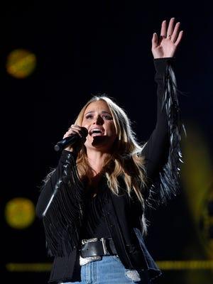 Miranda Lambert performs during CMA Fest 2017 Thursday, June 8, at Nissan Stadium in Nashville, Tenn.