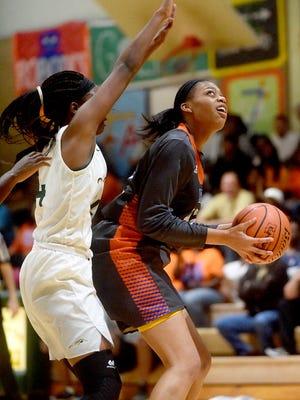 Captain Shreve vs. Southwood girls basketball at Captain Shreve High School in Shreveport on Monday, Feb. 20, 2017.