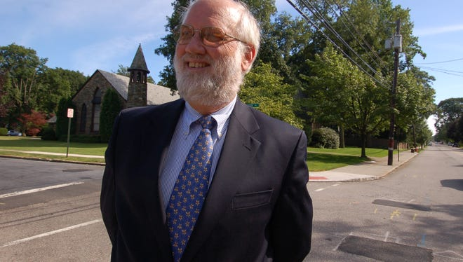 Pastor Paul Leggett of the Grace Presbyterian Church, seen in a previous photo. The church celebrates 125 years this month.