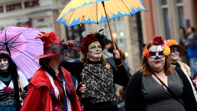 York Halloween Parade, Sunday, Oct. 29, 2017. John A. Pavoncello photo