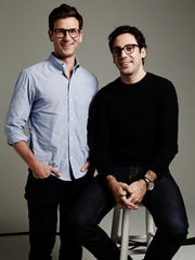 Co-founders and co-CEOs Dave Gilboa, left, and Neil