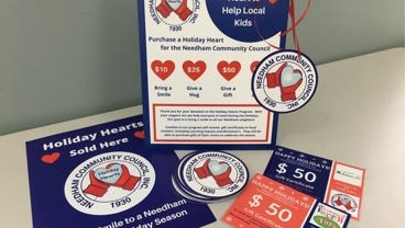 The Needham Community Council announced its Holiday Hearts program.