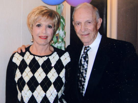 Sandy and Hartley Gaylord at  a birthday party in 2005.