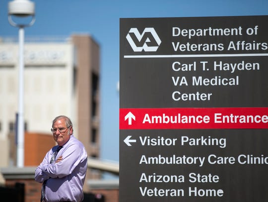 Sam Foote, the Phoenix VA physician who exposed health