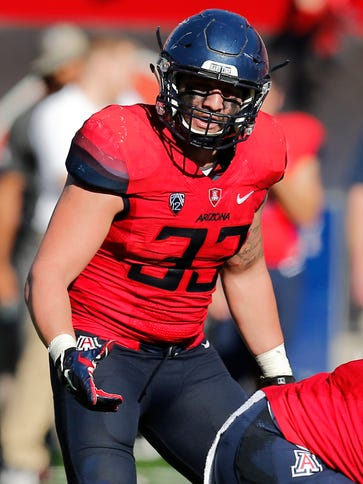 Arizona linebacker Scooby Wright III (33) has developed