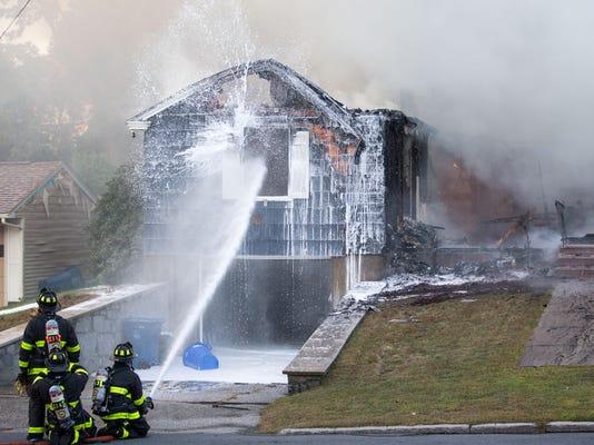 *** BESTPIX *** Dozens Of Gas Explosions Rock Massachusetts Towns