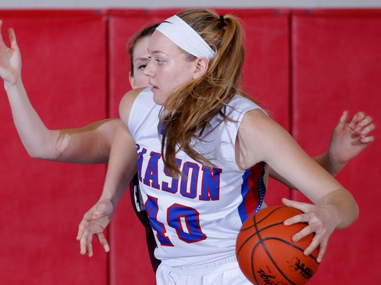 Autumn Kissman averaged a double-double for Mason and helped the school to its first district title in 17 years.
