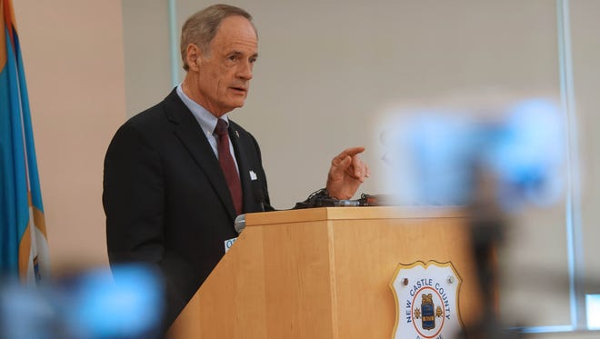 U.S. Sen. Tom Carper hopes Democrats and Republicans will be able to work together to alter the Senate Republicans' health care proposal.