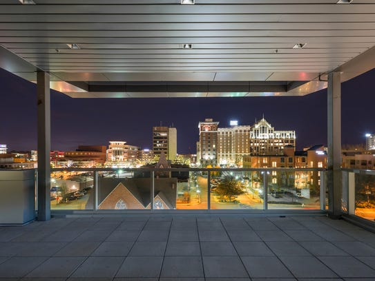 New event space avenue lands on downtown rooftop for Architects greenville sc