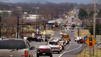 Morning traffic on Columbia Avenue near Mack Hatcher Parkway. PHOTO BY JEANNE REISEL/STAFF