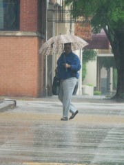 Wichita Falls received rain Tuesday night into Wednesday