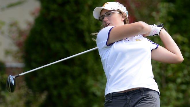 North Henderson golfer Megan Burgess.