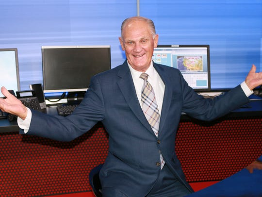 Dave Munsey's wife likes to tease him that he'd walk