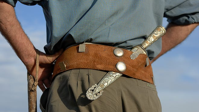 The Texas law making it legal to open carry blades longer than 5.5 inches will take effect Sept. 1, 2017.