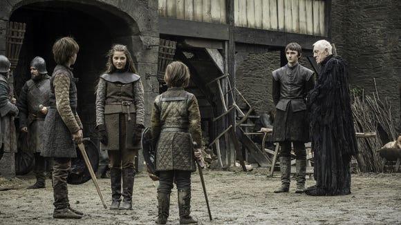 Baby Ned, Lyanna and Benjen! Joy!