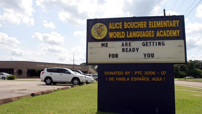 Alice Boucher Elementary is one of four Lafayette schools to receive state certification for its language immersion.