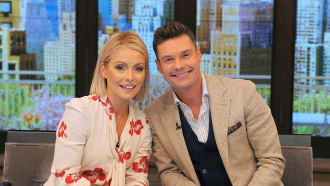 'Live With Kelly and Ryan' began with new permanent co-host Ryan Seacrest on Monday.