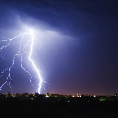 A severe thunderstorm watch is in effect for South